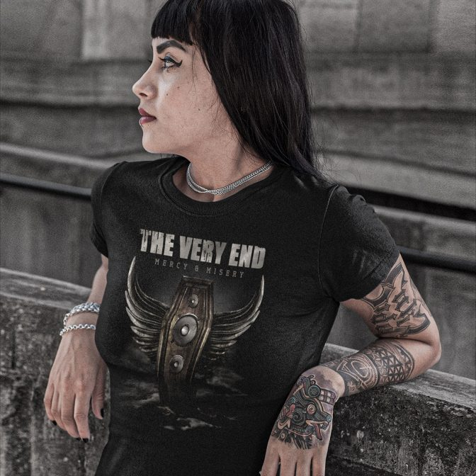 The Very End - Mercy & Misery - Girlie Shirt - album design