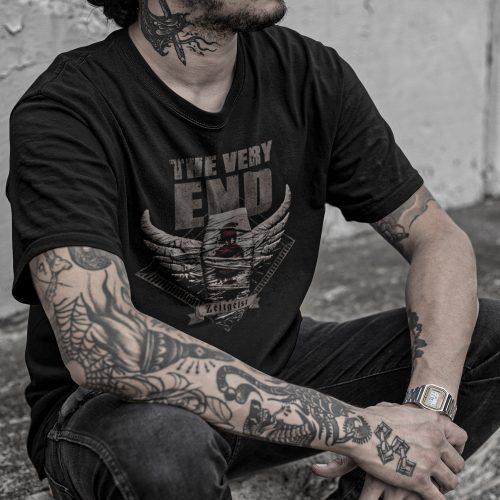 Zeitgeist album-cover-t-shirt Black The Very End