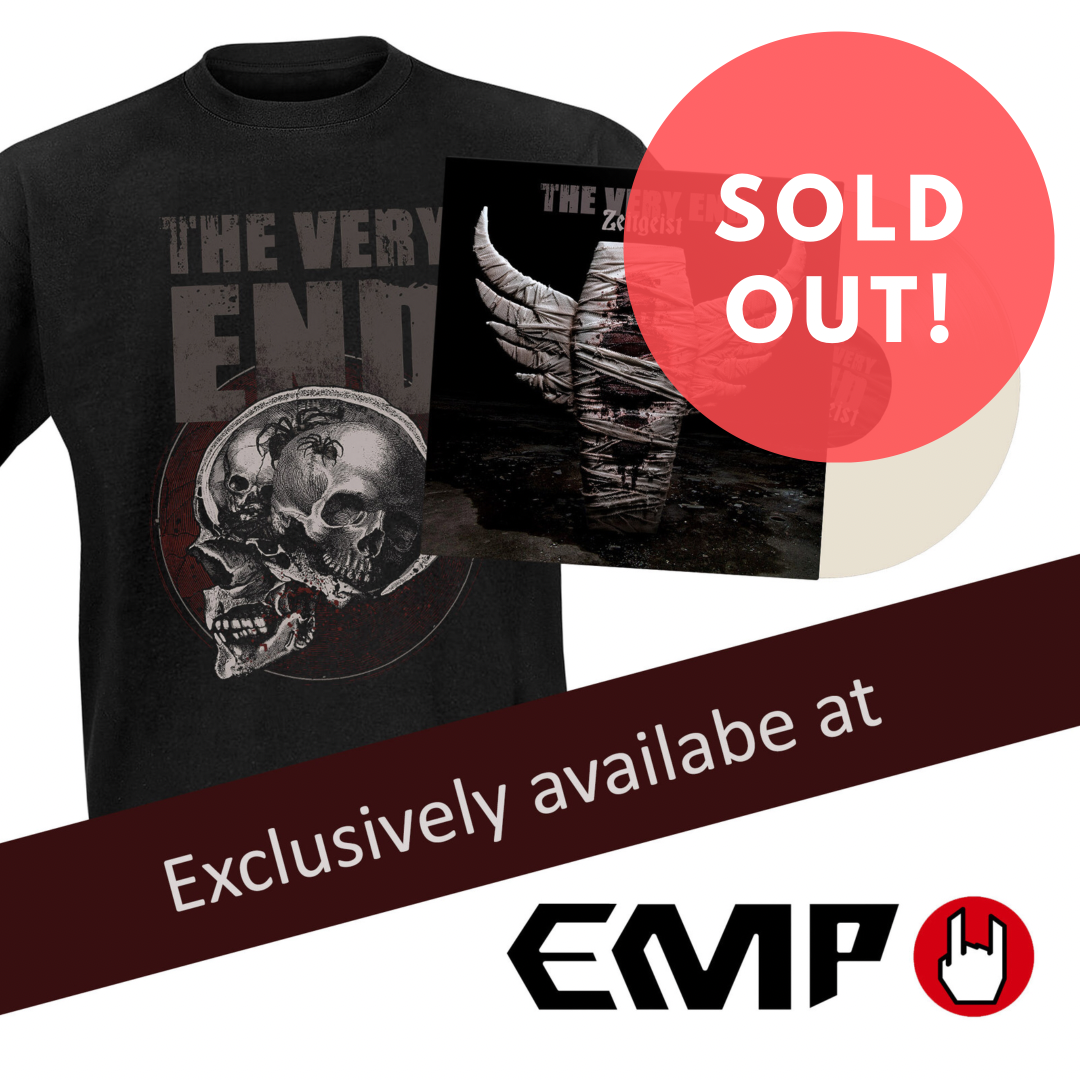 EMP-Exclusiv-Bundle-The-Very-End-Zeitgeist-Sold-Out-weiss-LP- vinyl-t-shirt